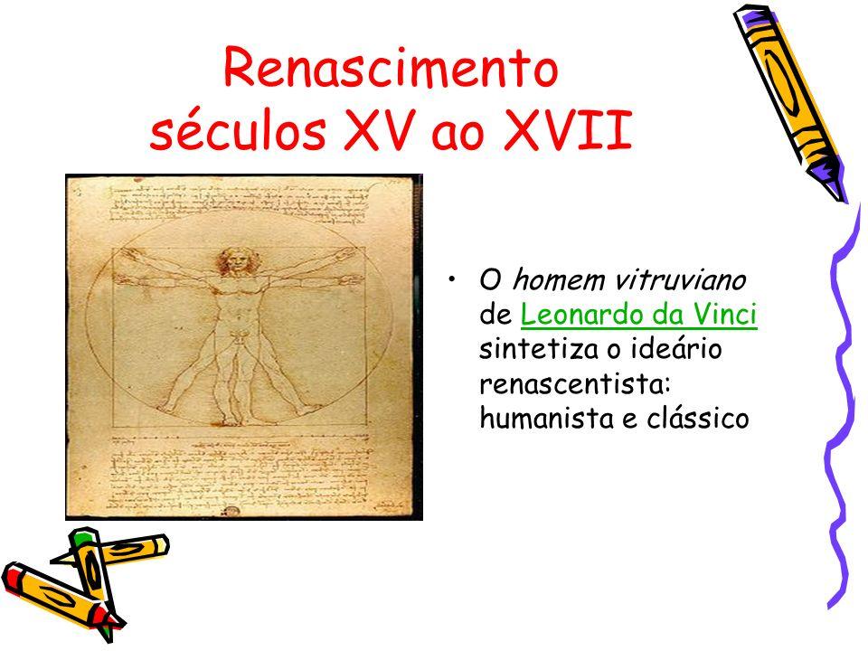 Renascimento séculos XV ao XVII