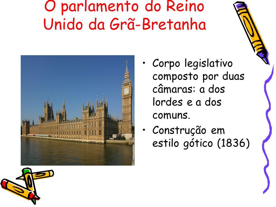 O parlamento do Reino Unido da Grã-Bretanha