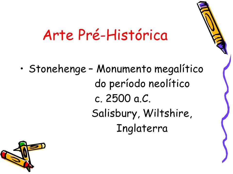 Arte Pré-Histórica Stonehenge – Monumento megalítico
