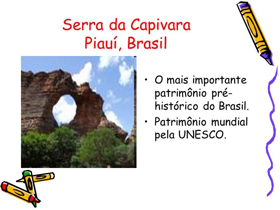 Serra da Capivara Piauí, Brasil