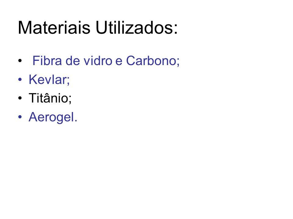 Materiais Utilizados: