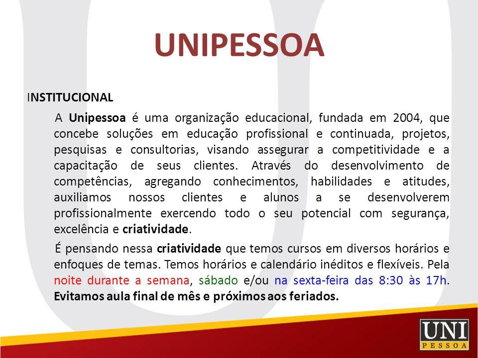 UNIPESSOA INSTITUCIONAL