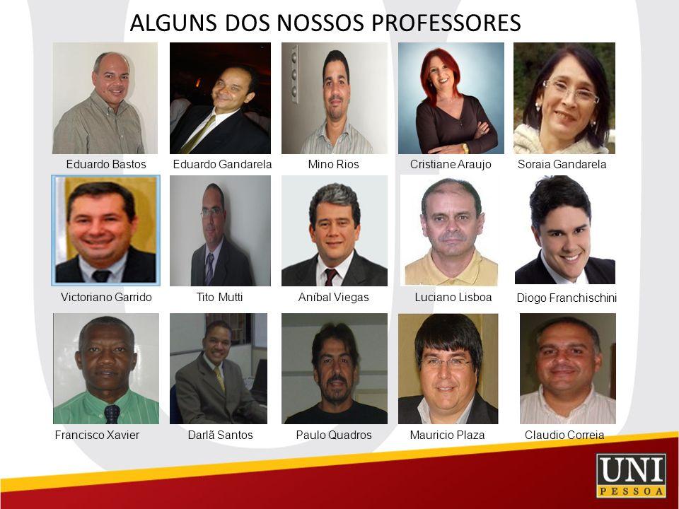 ALGUNS DOS NOSSOS PROFESSORES