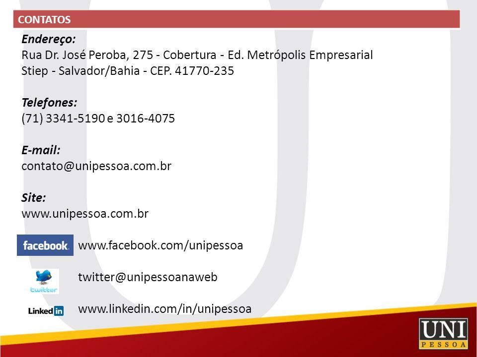 Rua Dr. José Peroba, 275 - Cobertura - Ed. Metrópolis Empresarial
