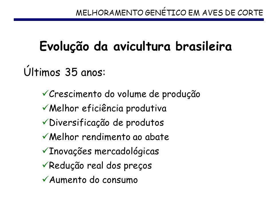 Evolução da avicultura brasileira
