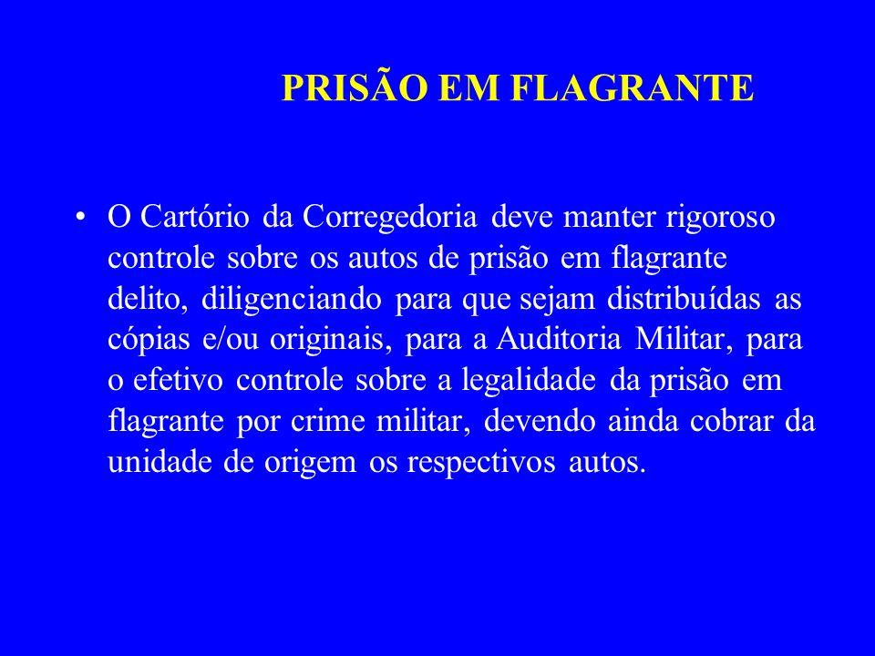 PRISÃO EM FLAGRANTE
