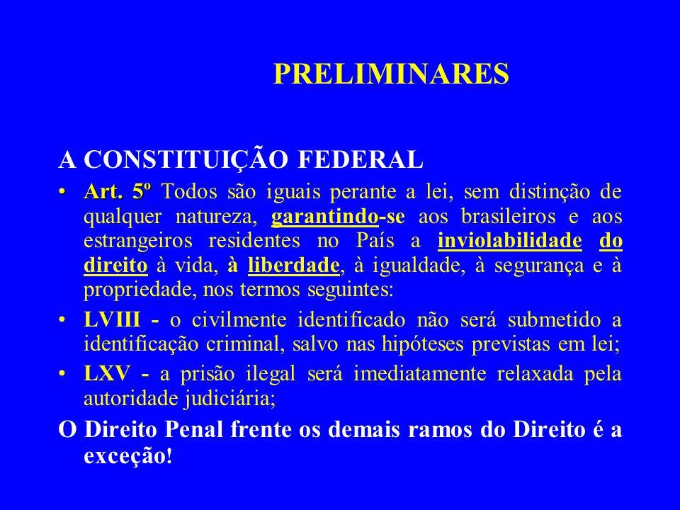 PRELIMINARES A CONSTITUIÇÃO FEDERAL
