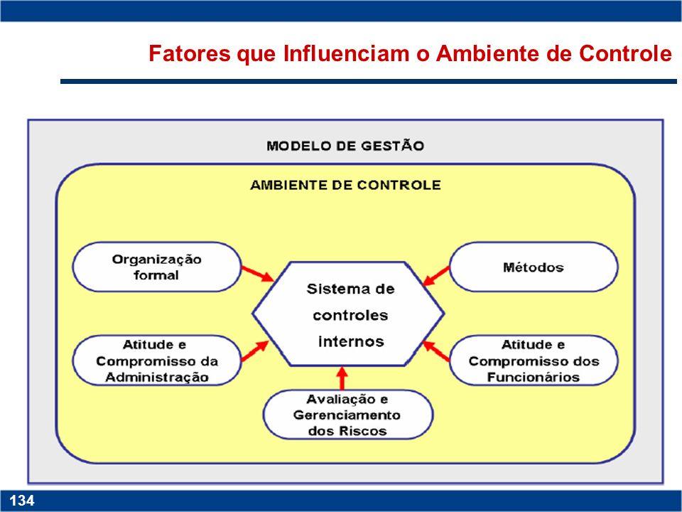 Fatores que Influenciam o Ambiente de Controle