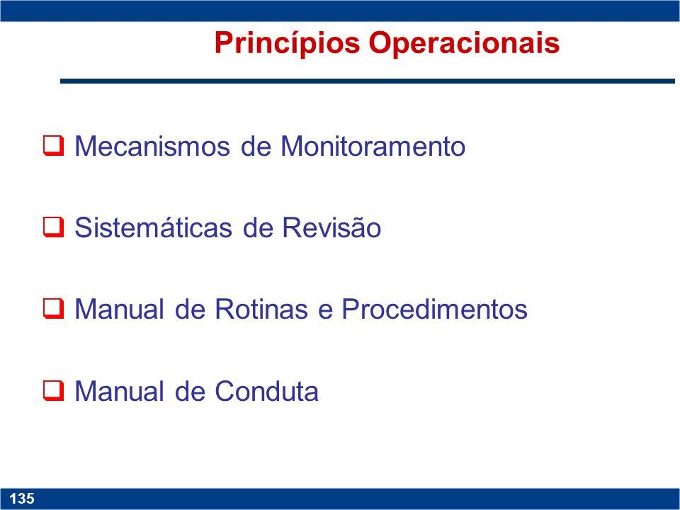 Princípios Operacionais