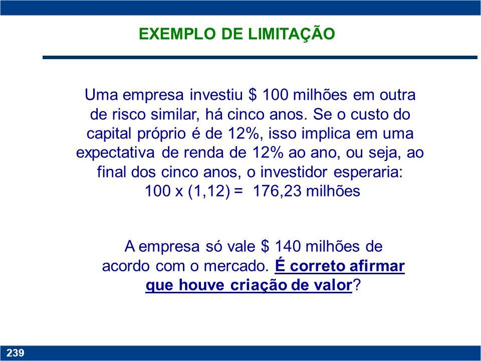 EXEMPLO DE LIMITAÇÃO