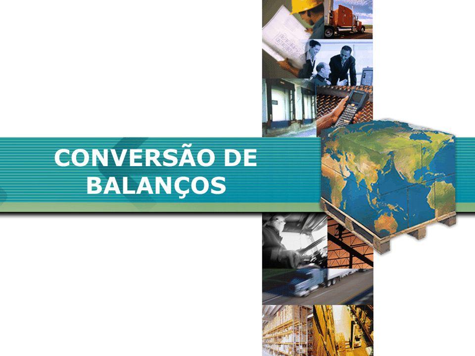 CONVERSÃO DE BALANÇOS A CONTROLADORIA...