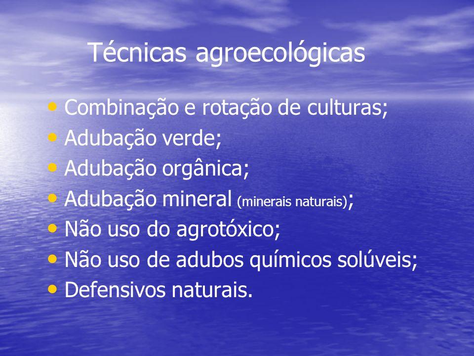 Técnicas agroecológicas