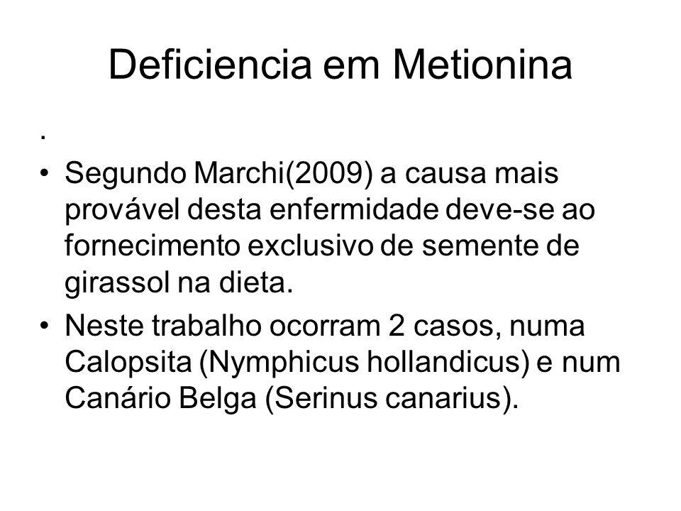 Deficiencia em Metionina