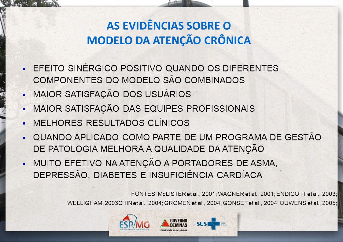 MODELO DA ATENÇÃO CRÔNICA
