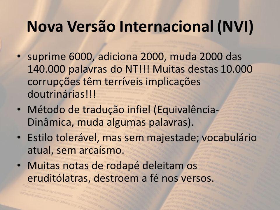 Nova Versão Internacional (NVI)