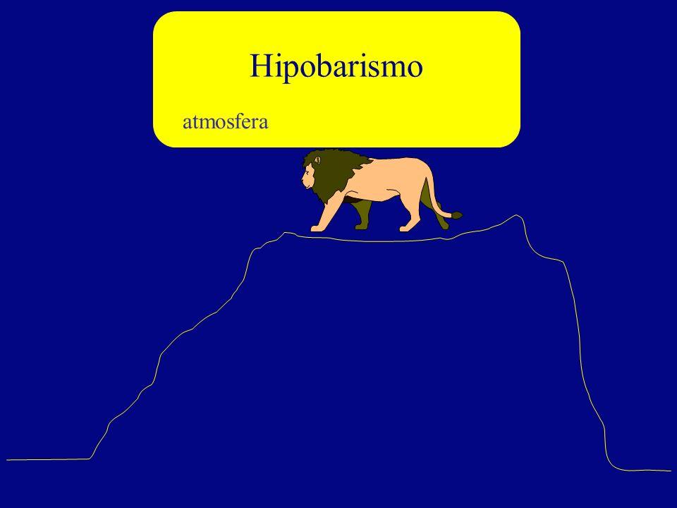 Hipobarismo atmosfera