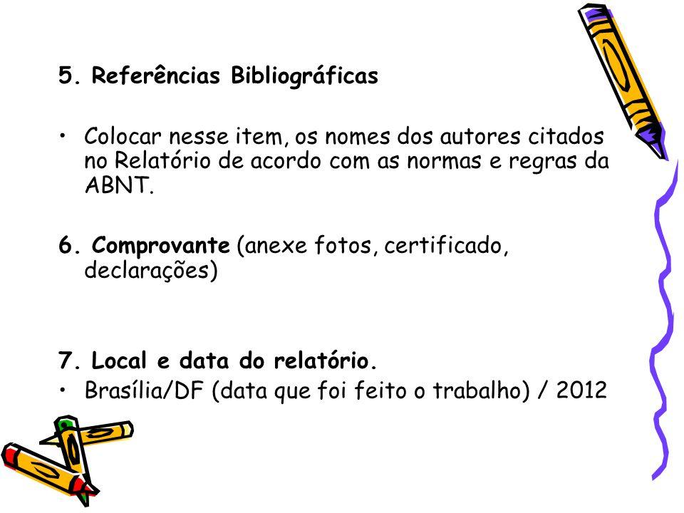 . 5. Referências Bibliográficas