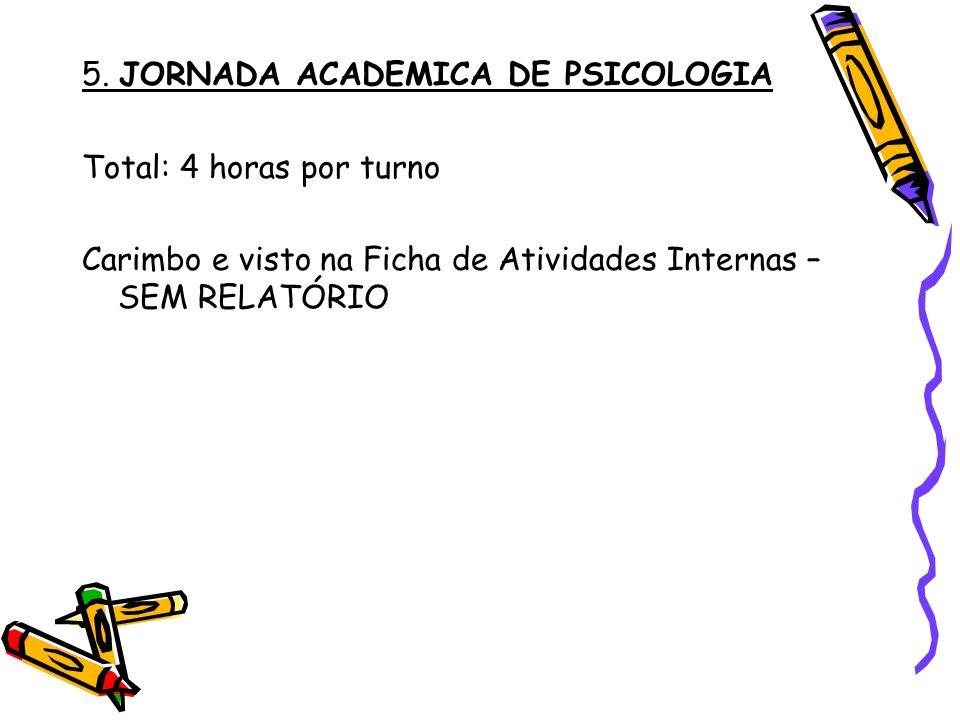 5. JORNADA ACADEMICA DE PSICOLOGIA
