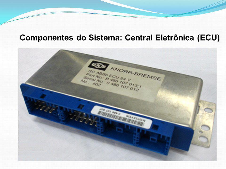 Componentes do Sistema: Central Eletrônica (ECU)
