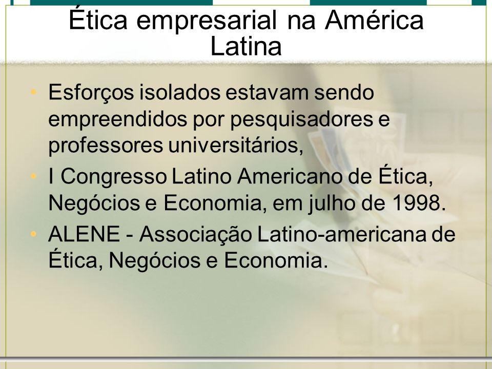 Ética empresarial na América Latina