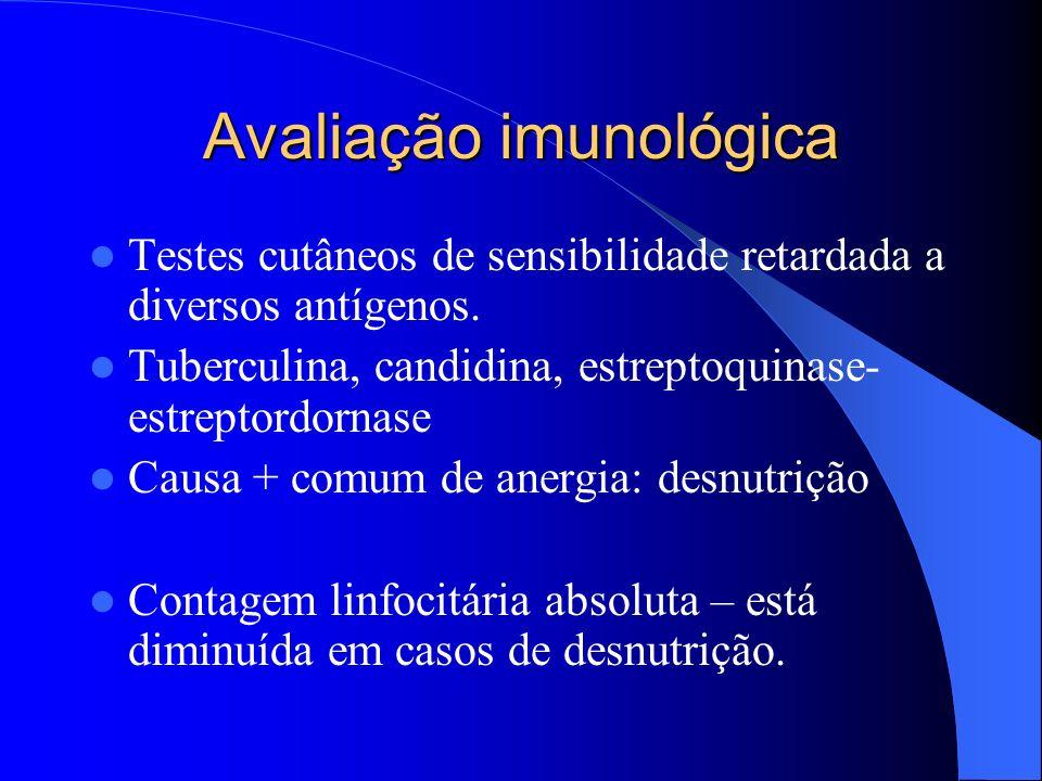 Avaliação imunológica