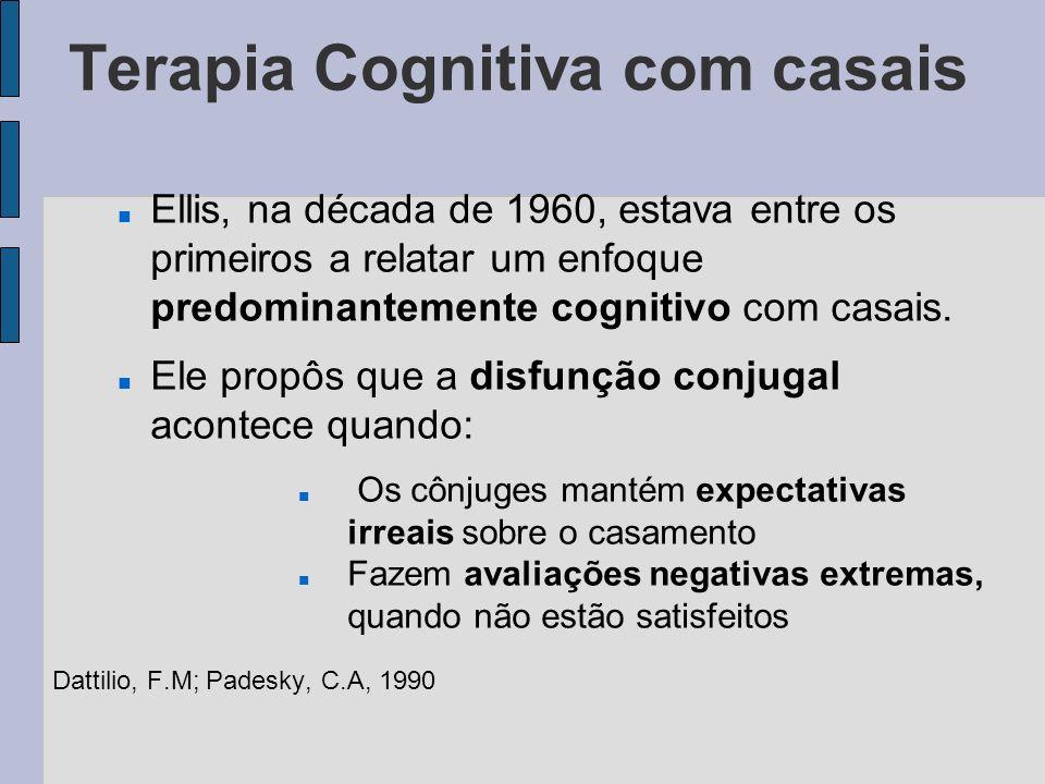 Terapia Cognitiva com casais
