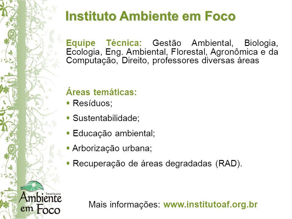 Instituto Ambiente em Foco