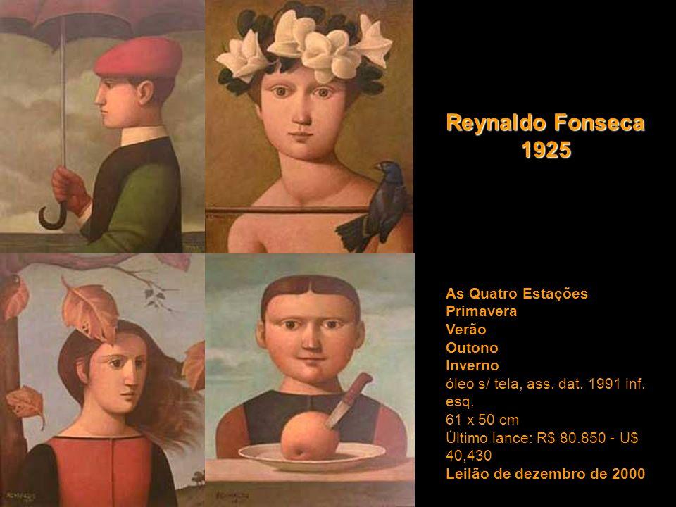 Reynaldo Fonseca 1925 As Quatro Estações Primavera Verão Outono Inverno.