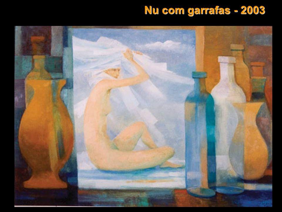 Nu com garrafas - 2003