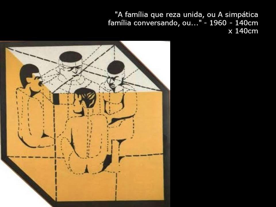A família que reza unida, ou A simpática família conversando, ou