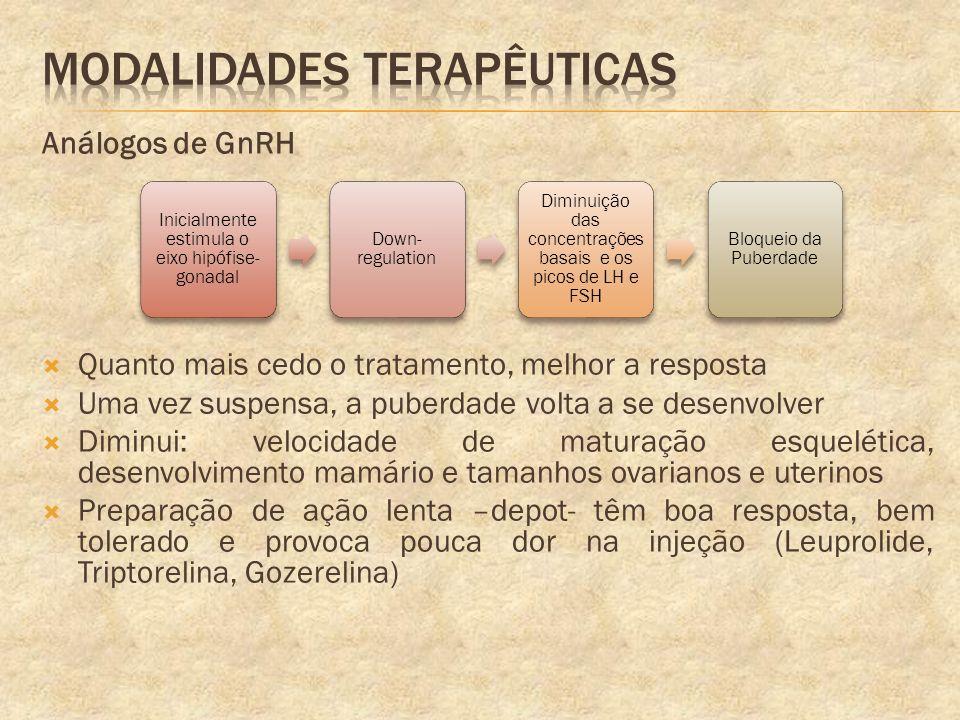 Modalidades terapêuticas