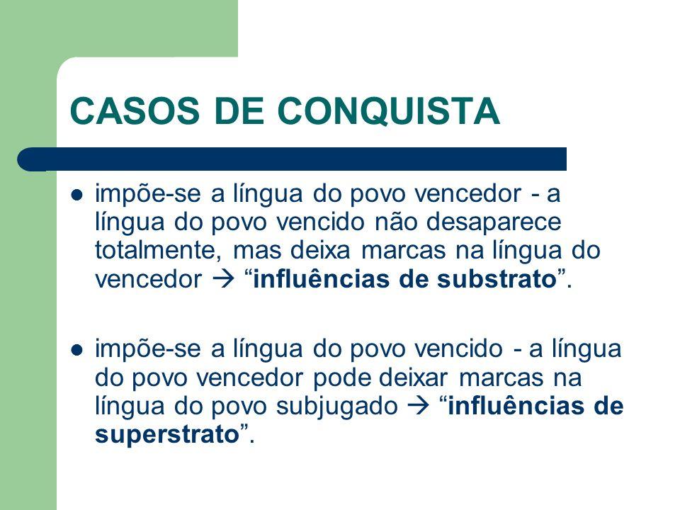 CASOS DE CONQUISTA