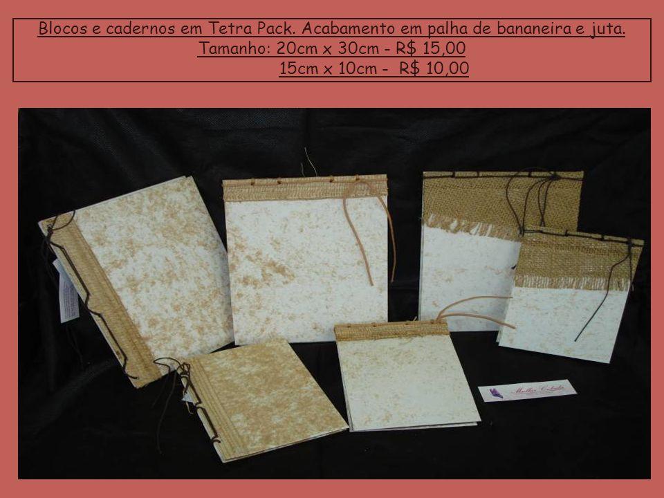 Blocos e cadernos em Tetra Pack