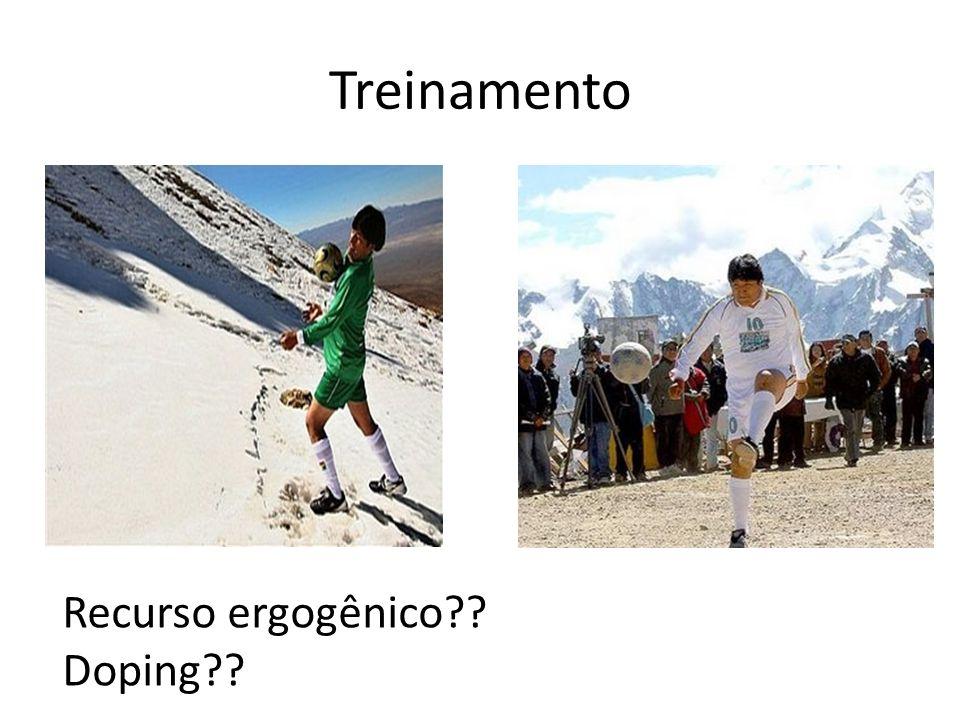 Treinamento Recurso ergogênico Doping