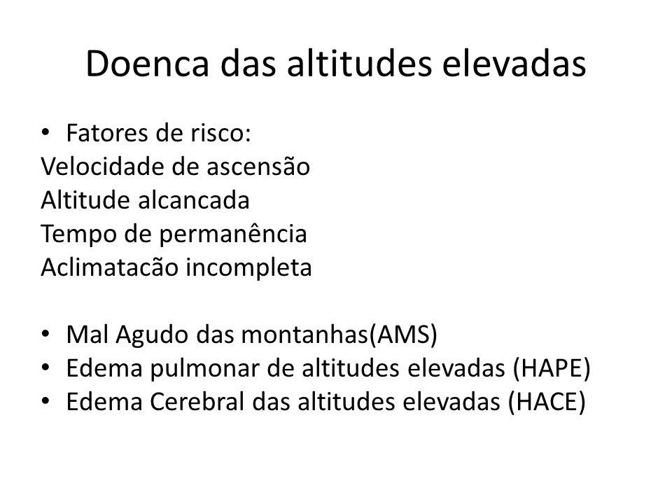 Doenca das altitudes elevadas