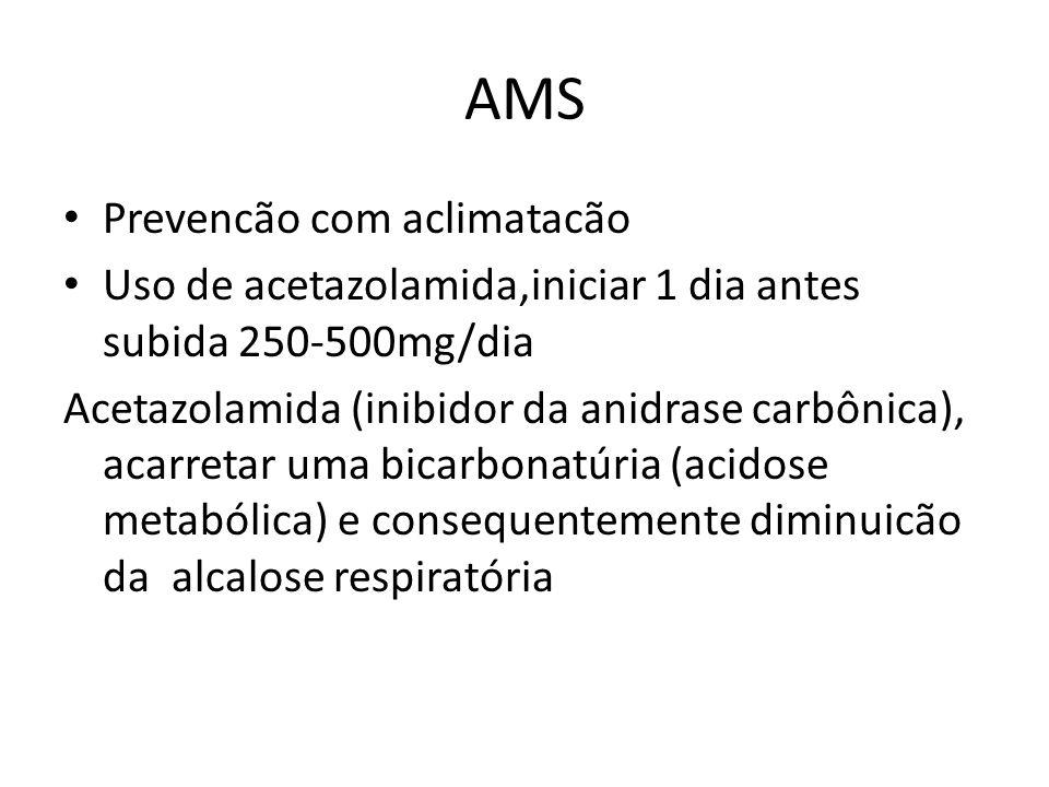 AMS Prevencão com aclimatacão