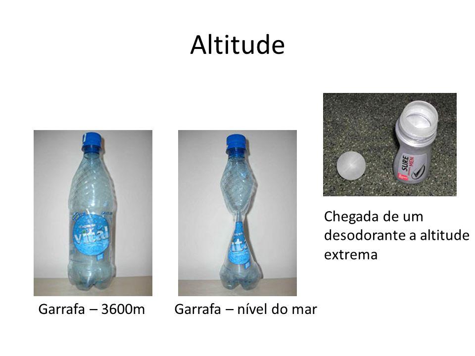 Altitude Chegada de um desodorante a altitude extrema