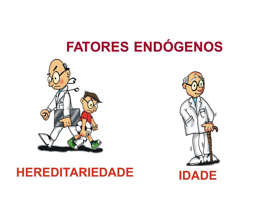FATORES ENDÓGENOS HEREDITARIEDADE IDADE