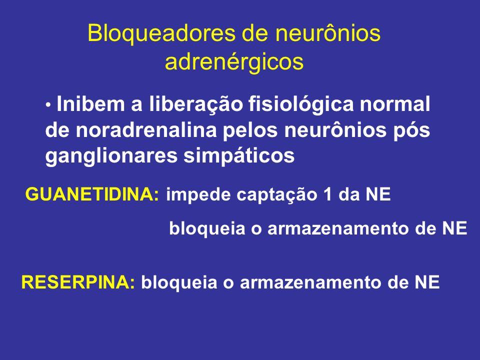 Bloqueadores de neurônios adrenérgicos