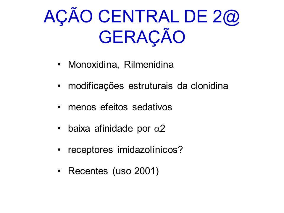 AÇÃO CENTRAL DE 2@ GERAÇÃO