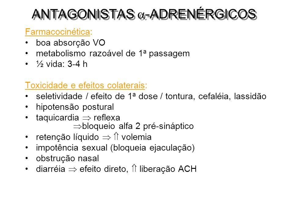ANTAGONISTAS -ADRENÉRGICOS