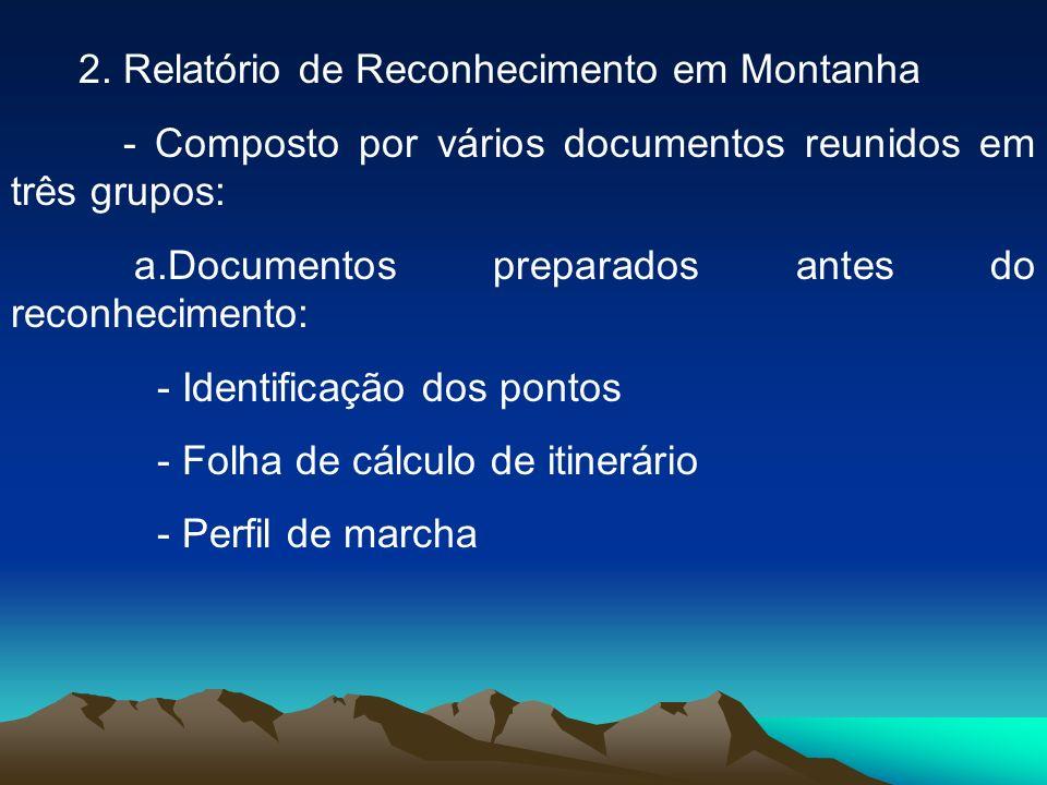 2. Relatório de Reconhecimento em Montanha