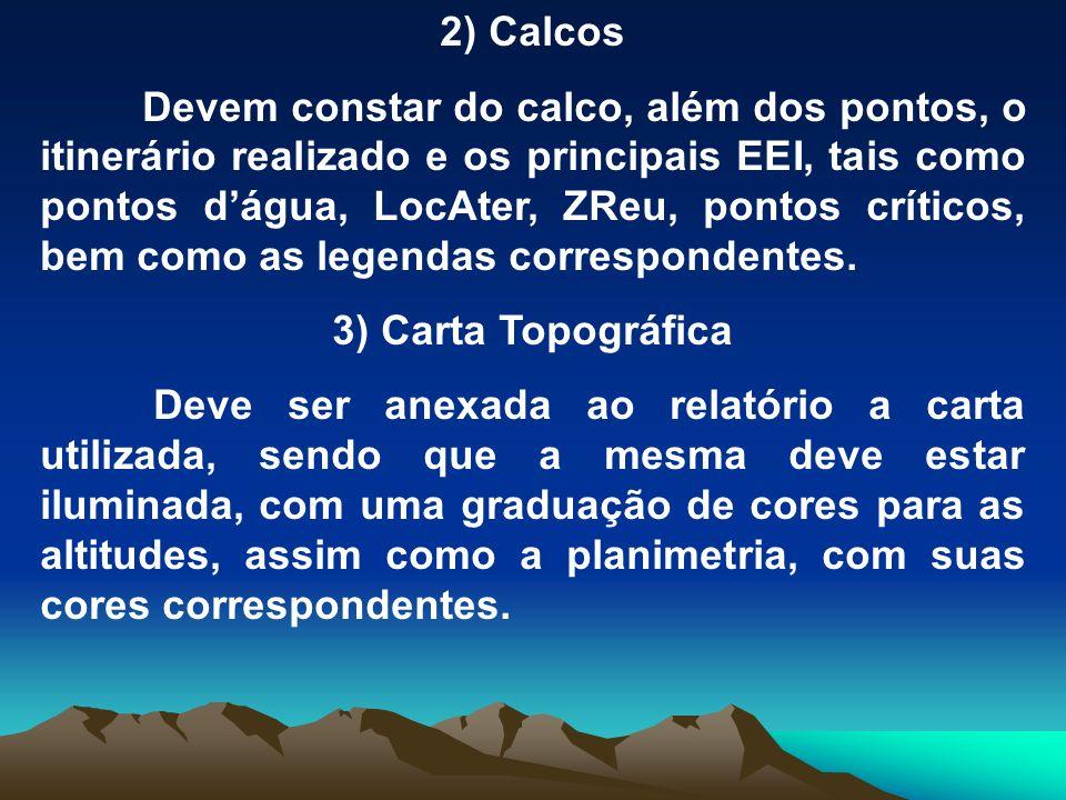 2) Calcos