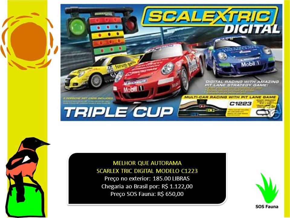 SCARLEX TRIC DIGITAL MODELO C1223 Preço no exterior: 185.00 LIBRAS