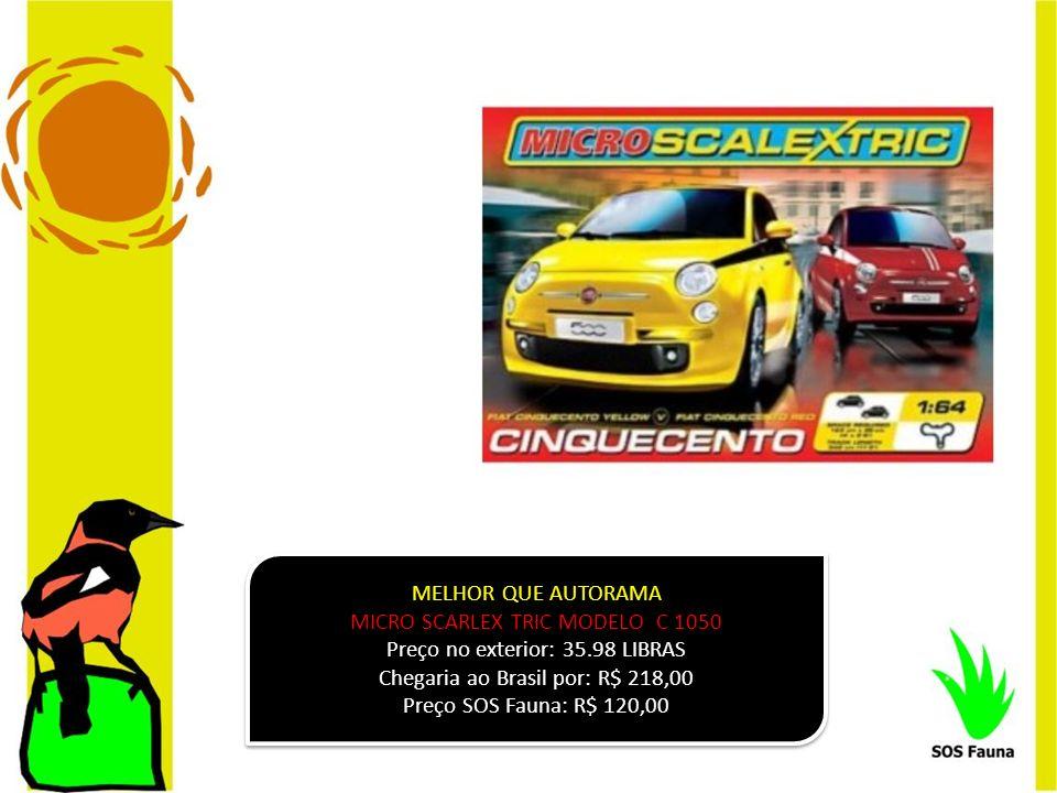 MICRO SCARLEX TRIC MODELO C 1050 Preço no exterior: 35.98 LIBRAS