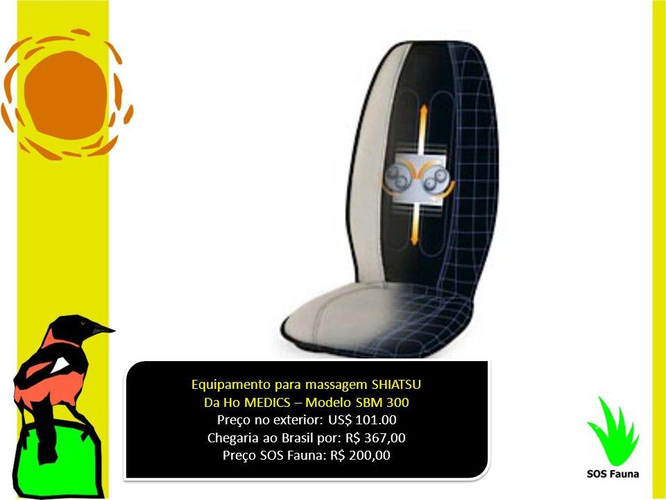 Equipamento para massagem SHIATSU Da Ho MEDICS – Modelo SBM 300