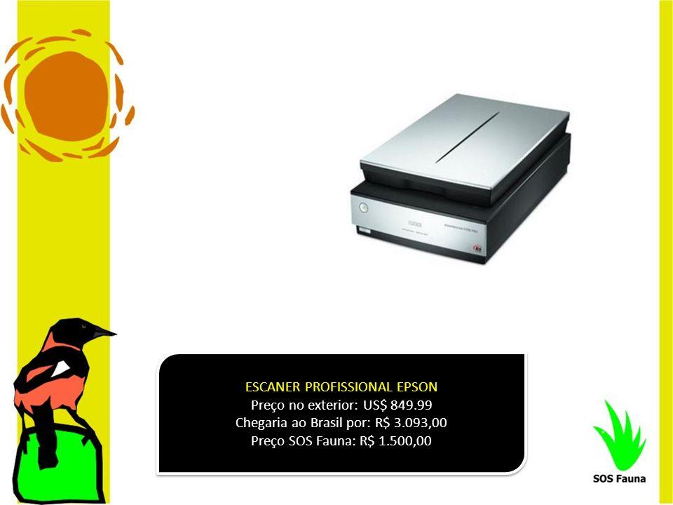 ESCANER PROFISSIONAL EPSON Preço no exterior: US$ 849.99
