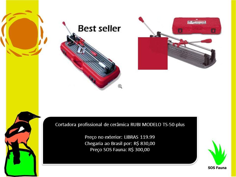Cortadora profissional de cerâmica RUBI MODELO TS-50-plus