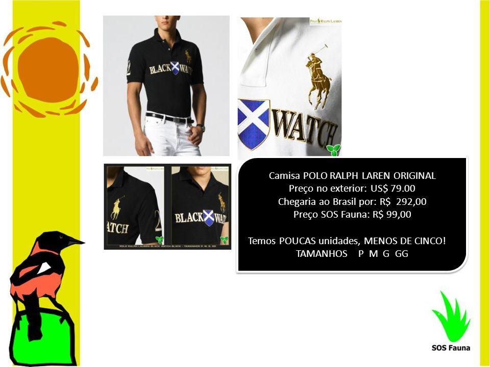 Camisa POLO RALPH LAREN ORIGINAL Preço no exterior: US$ 79.00