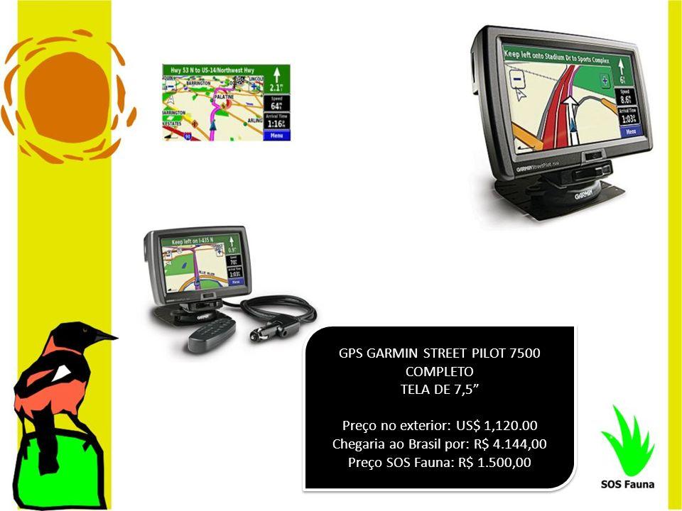 GPS GARMIN STREET PILOT 7500 COMPLETO TELA DE 7,5